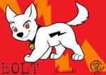 BOLT the wonder dog by LAUBoZ