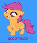 Scootaloooooooooo by LAUBoZ