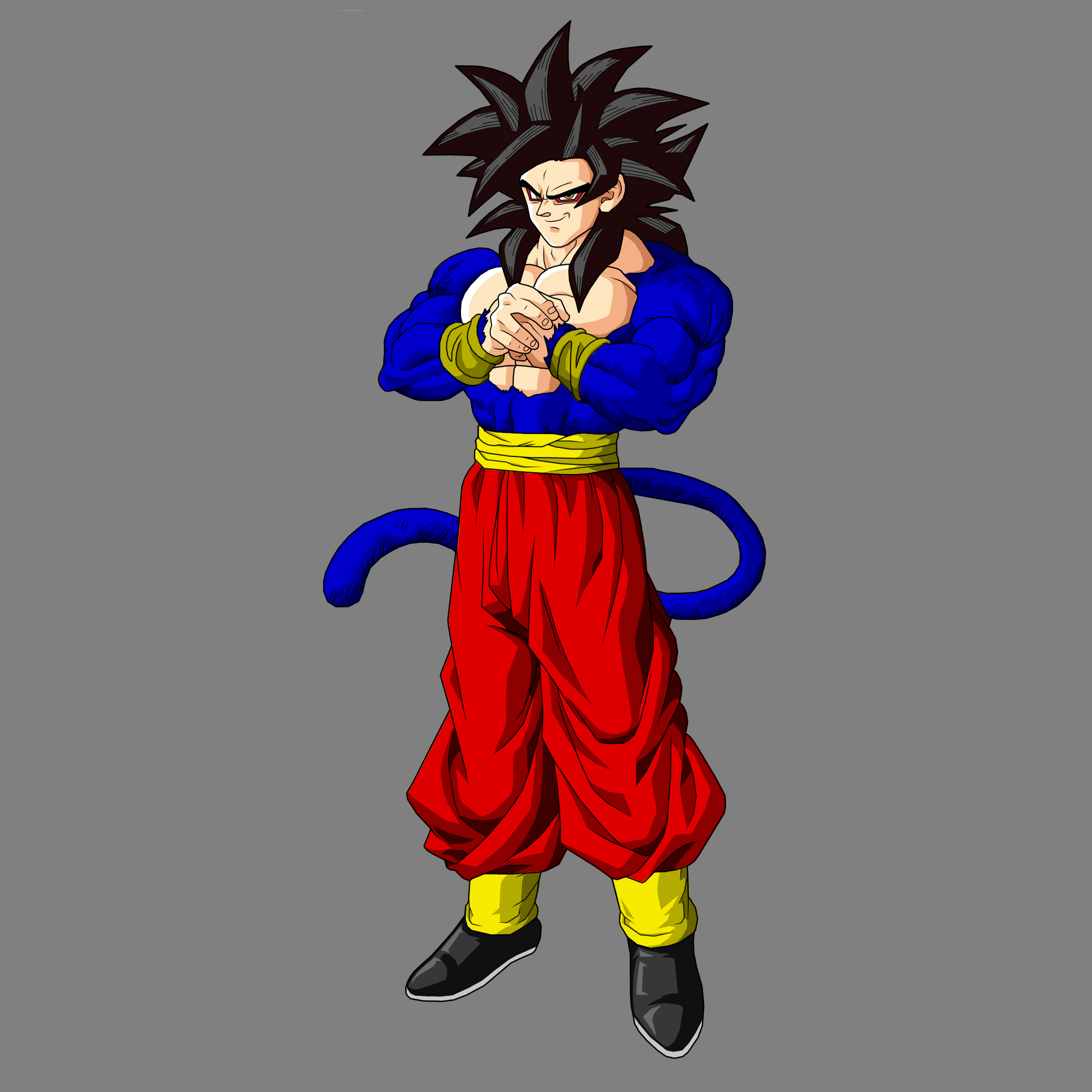 Goku ssj4 alternative costume by Demonlord6 on DeviantArt