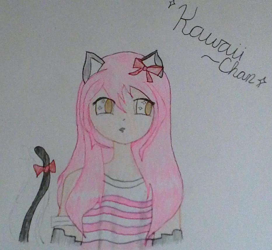 kawaii chan by AshHazFanArt on DeviantArt