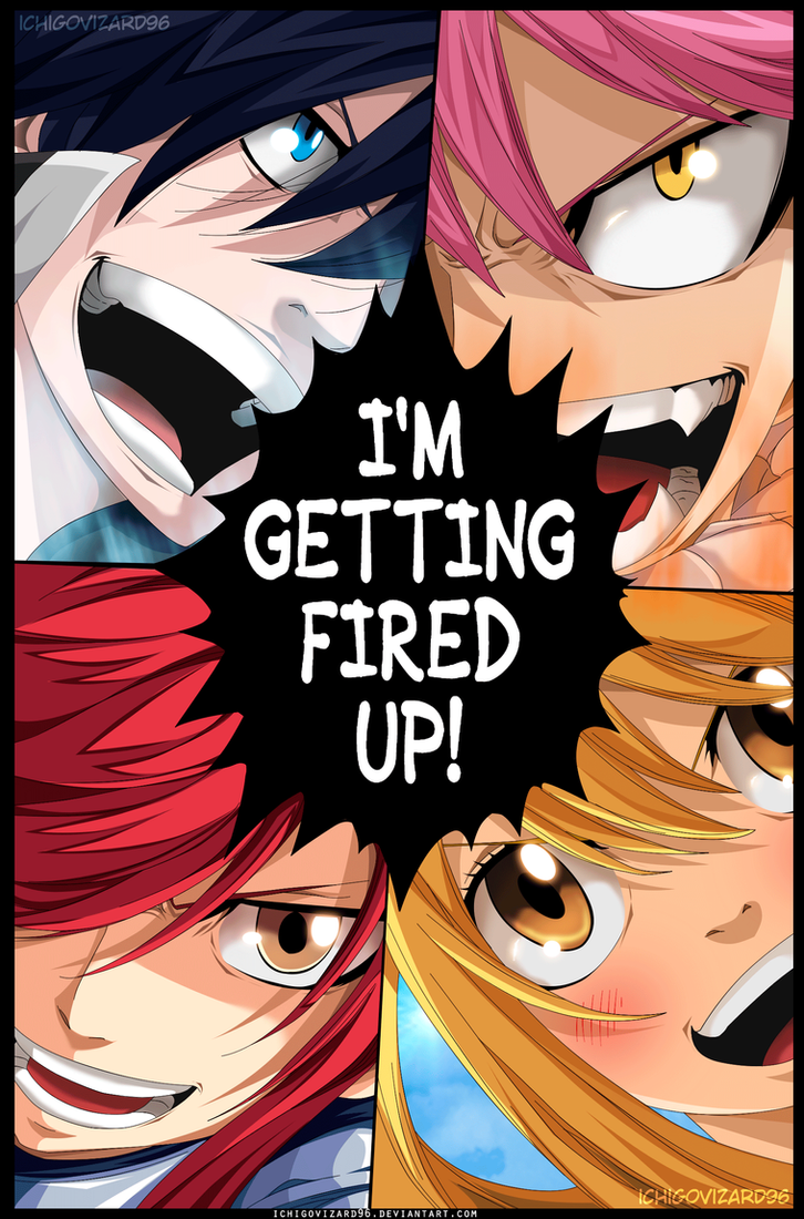 Fairy Tail 430 - I'M GETTING FIRED UP! reunion by IchigoVizard96