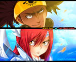 Fairy Tail 455 - Erza  vs Ajeel/Azir