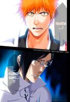 BLEACH 659 - Ichigo and Ishida confrontation by IchigoVizard96