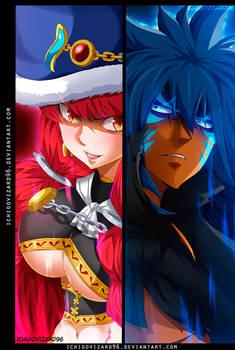 Fairy Tail 488 - Eileen Belserion  vs Acnologia