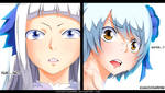 Fairy Tail 492 - Sorano/Angel and Yukino, sisters