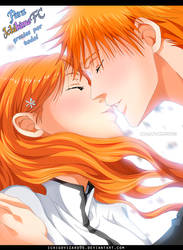 Bleach - IchiHime Kiss