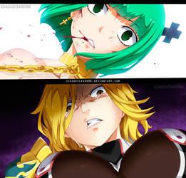 Fairy Tail 501 -Mari vs Randi(DiMaria vs Brandish) by IchigoVizard96