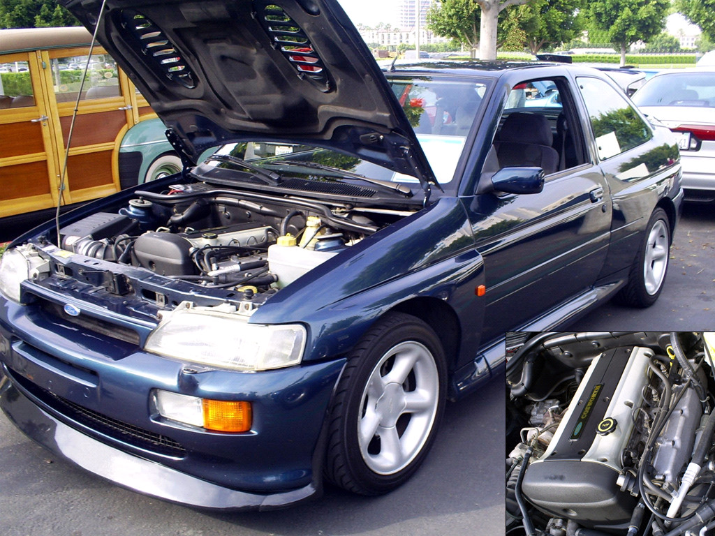Ford Cosworth Escort RS by Partywave ...