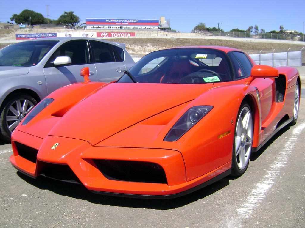 Ferrari Enzo At Laguna Seca By Partywave On Deviantart