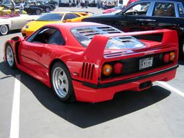 Ferrari F40 in Los Gatos CA by Partywave