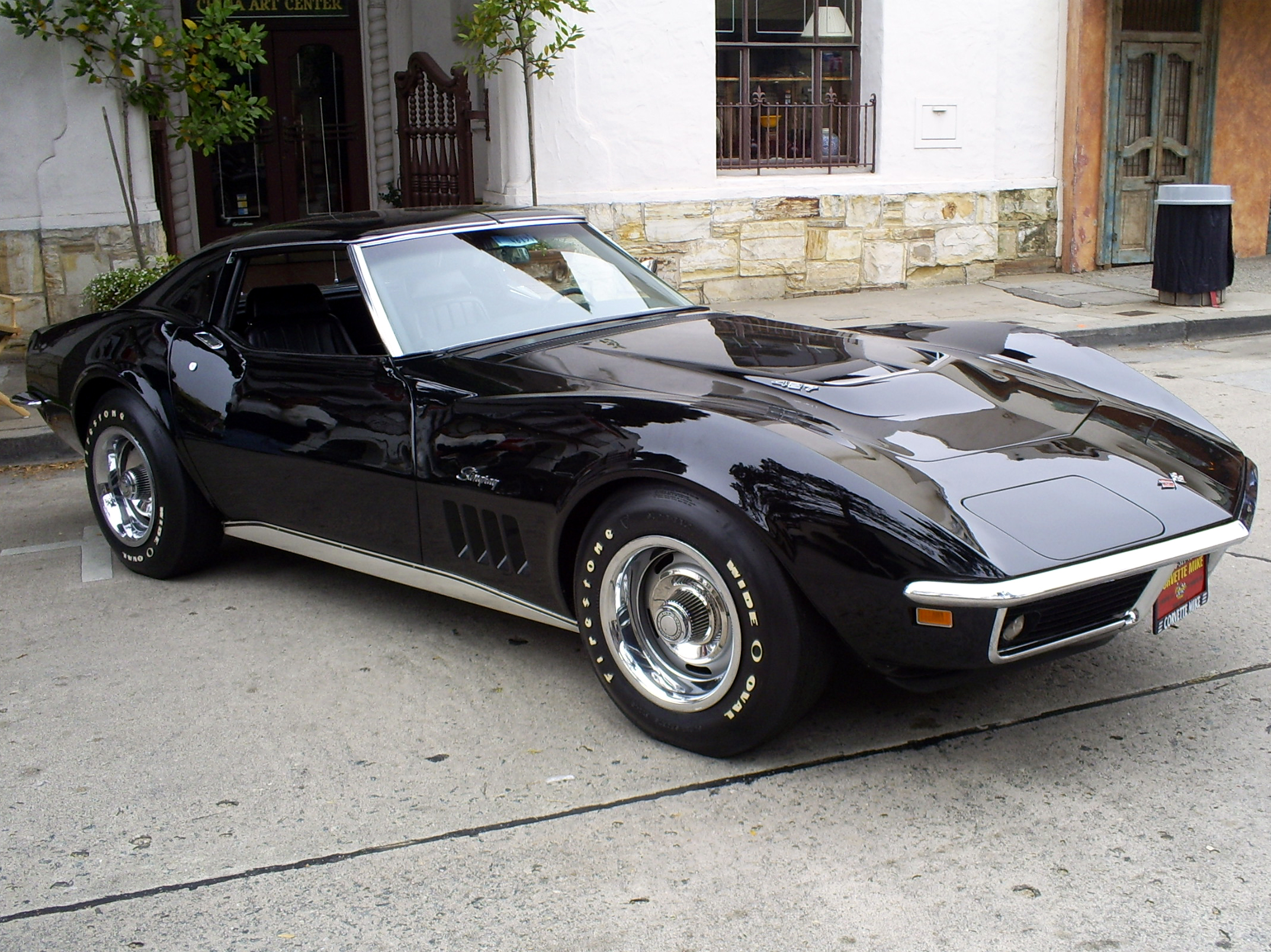 black_Corvette_Stingray_427_by_Partywave