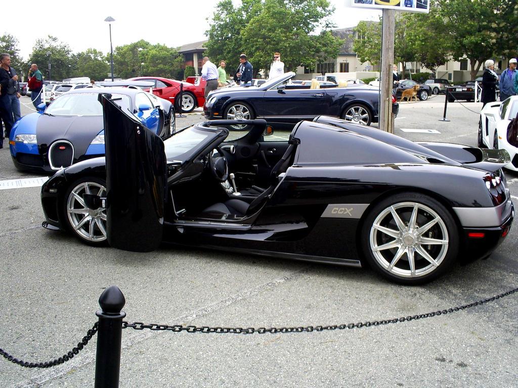 Koenigsegg CCX Carmel CA by Partywave