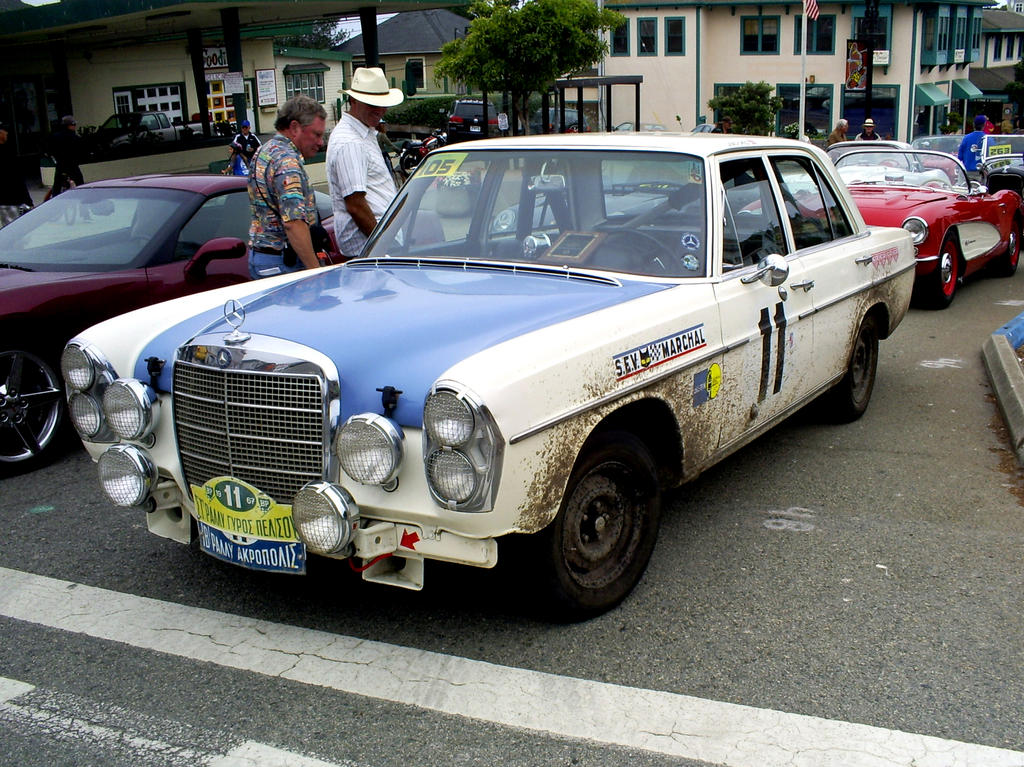 Mercedes 300 SEL AMG rally car by Partywave on DeviantArt