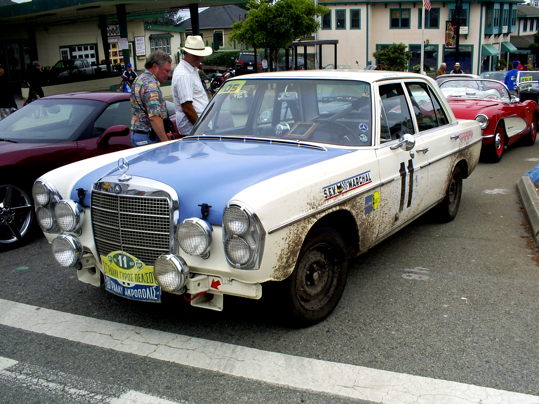 Mercedes 300sel amg rally car for Rally mercedes benz