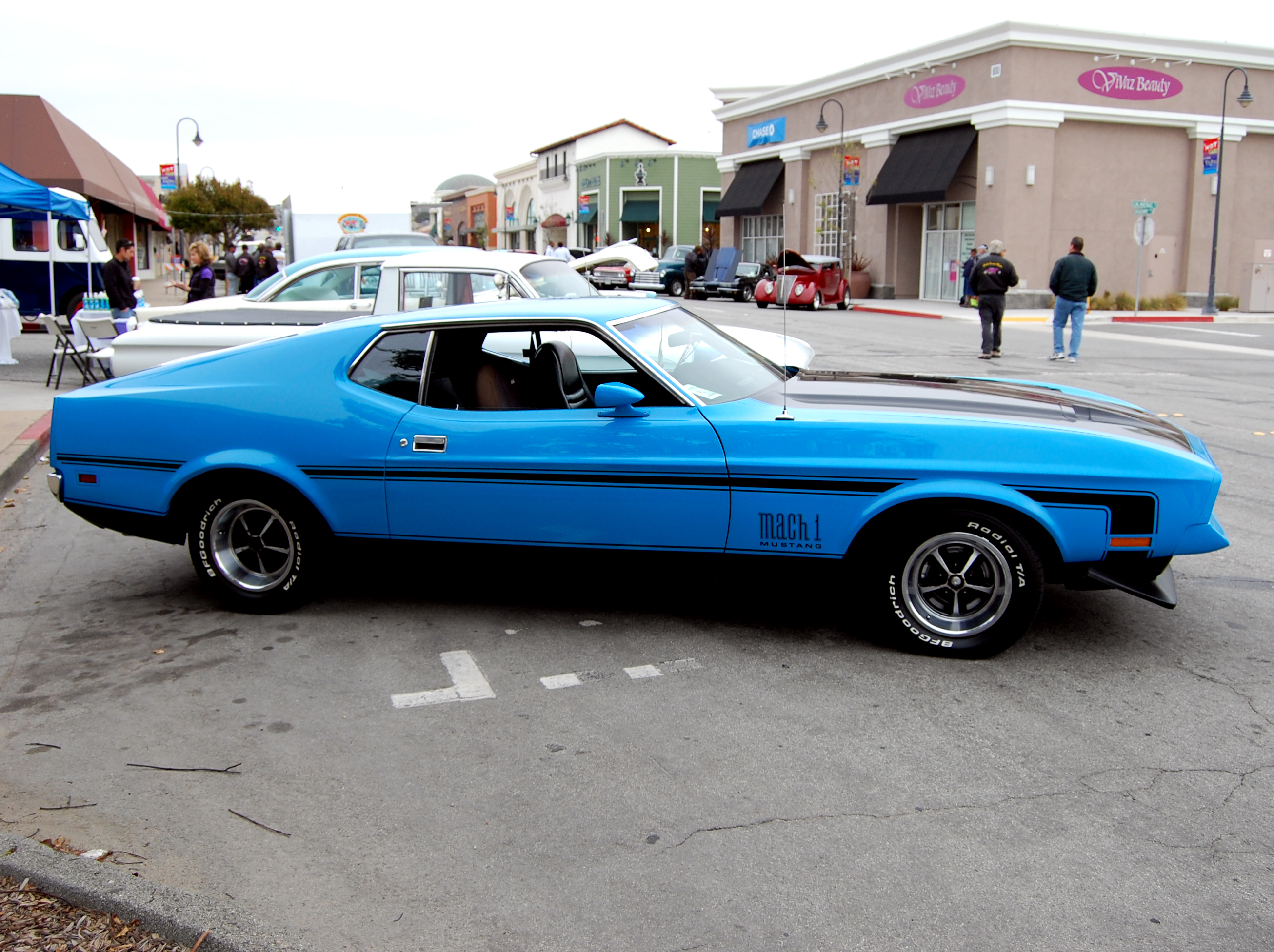 1972 ford mustang mach 1 ford