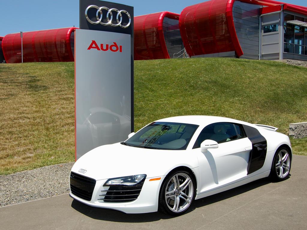 White Audi R At Infineon By Partywave On DeviantArt - White audi r8