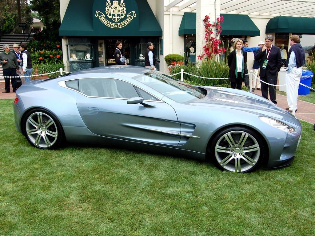 Pebble Beach CA Aston One 77 by Partywave