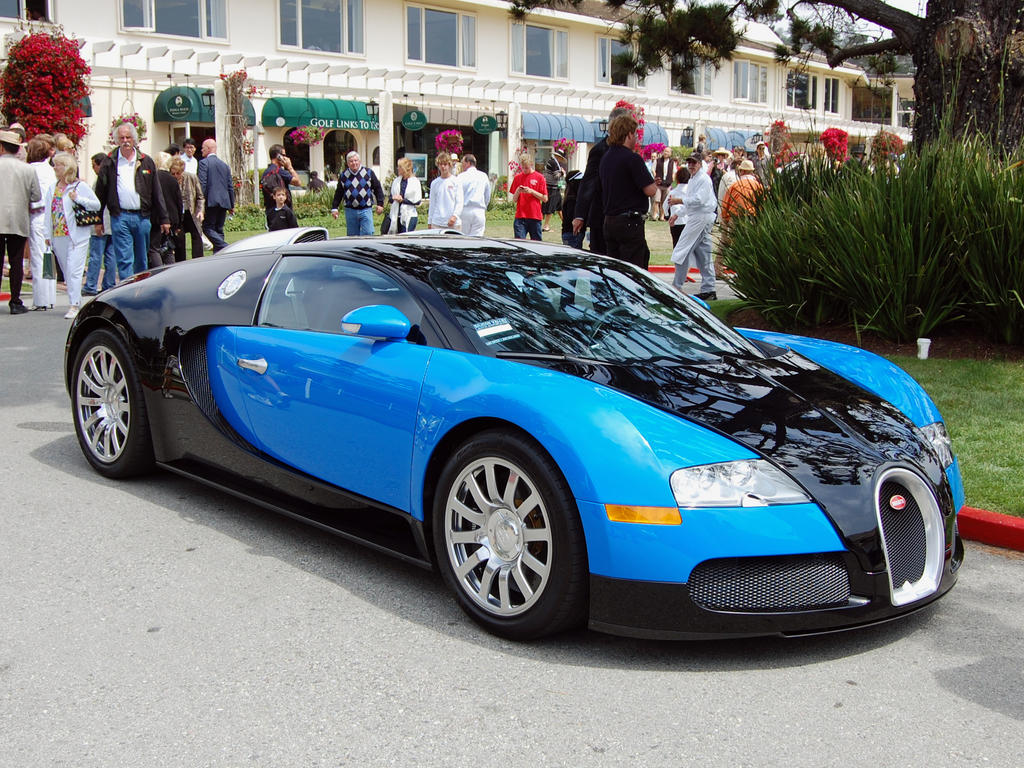 bugatti veyron in blue n black by partywave on deviantart. Black Bedroom Furniture Sets. Home Design Ideas