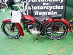 rare antique Harley Davidson by Partywave