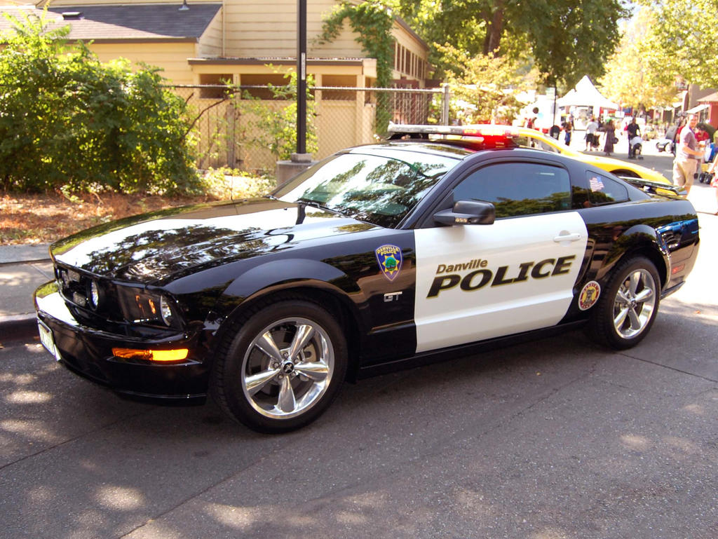 Mustang GT POLICE CAR by Partywave