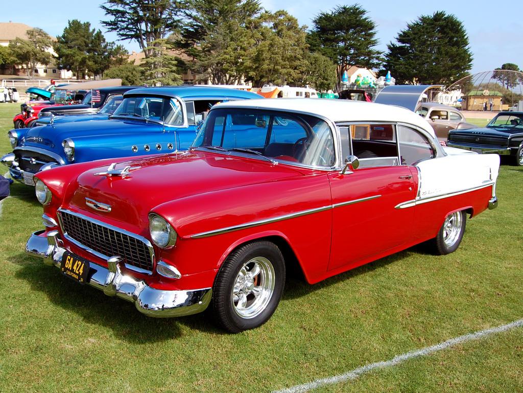 All Chevy chevy 2 door : 1955 Chevy 2 door 55 Buick by Partywave on DeviantArt