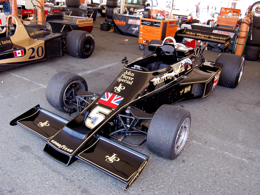 John Player Special Lotus F1 By Partywave On Deviantart