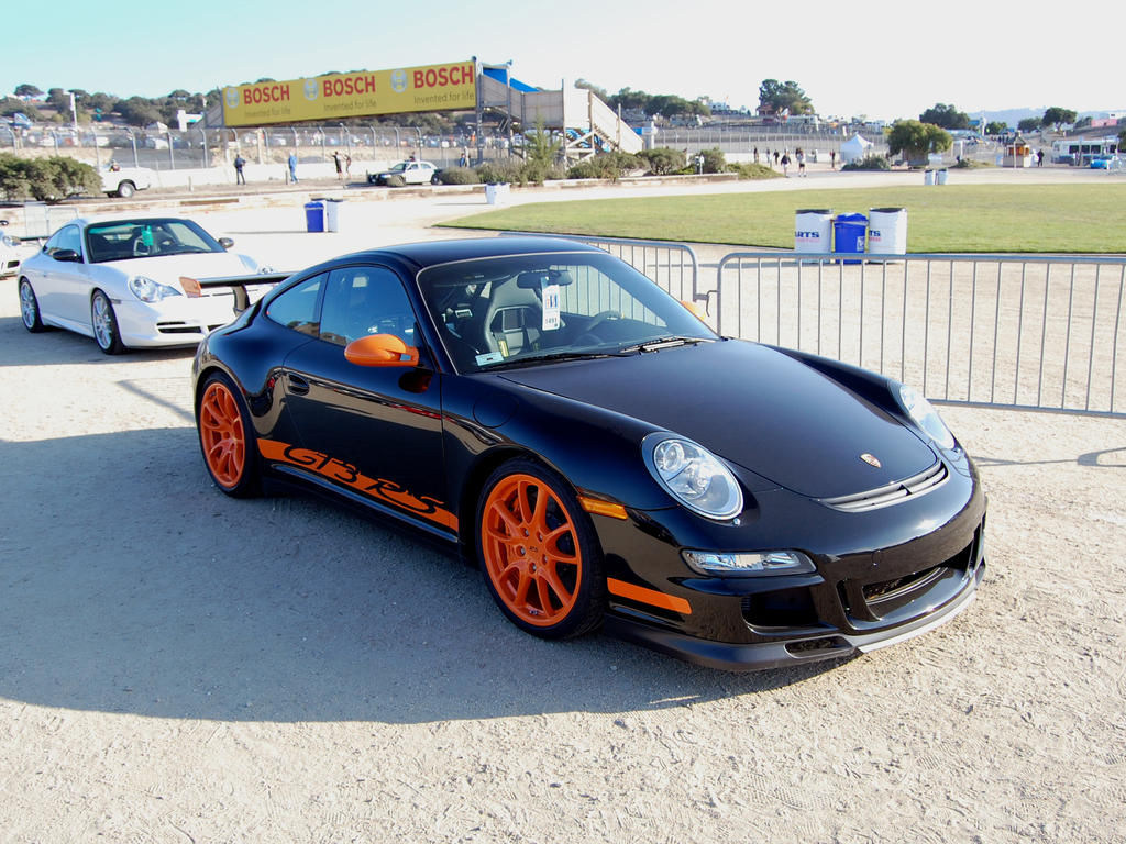 Porsche 911 GT3RS black orange by ~Partywave on deviantART