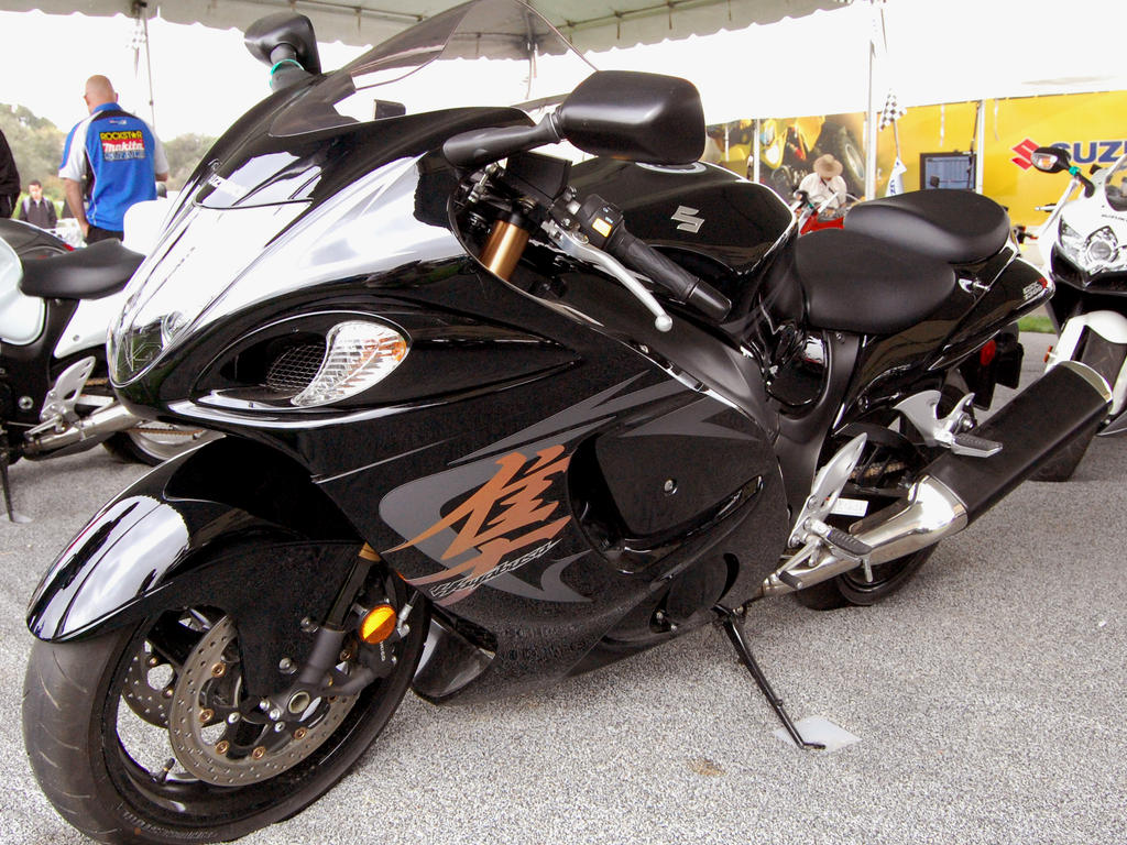 Suzuki Hayabusa Black Wallpapers