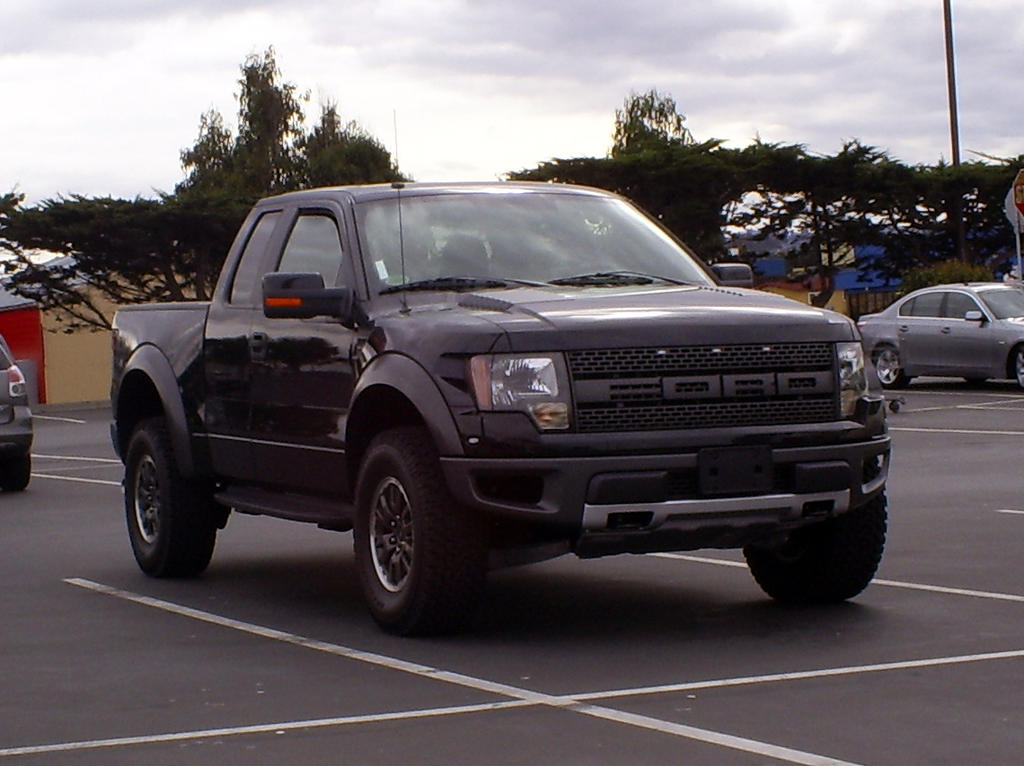 BLACK 2010 Ford SVT Raptor by ~Partywave on deviantART