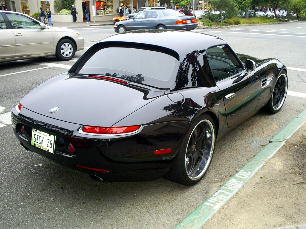 Black Bmw Z8 Hardtop V8 By Partywave On Deviantart
