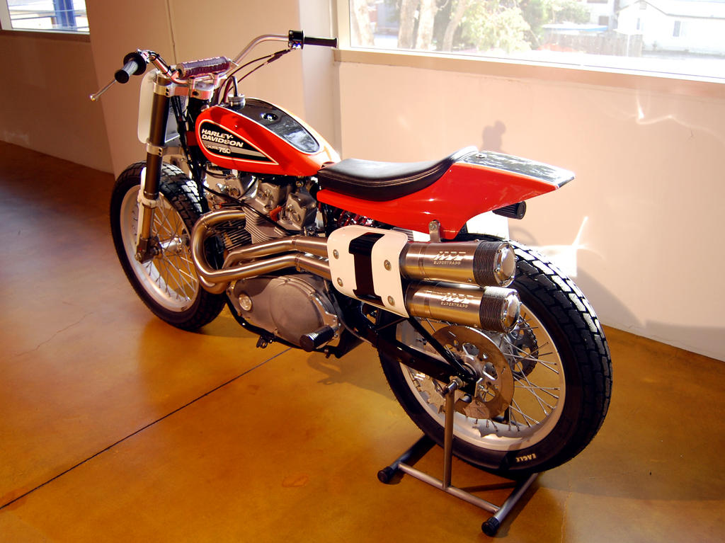 Evel Knievel Harley Auction: Harley XR750 Evel Knievel By Partywave On DeviantArt