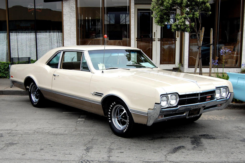 1966 Oldsmobile Cutlass 442 by Partywave on DeviantArt