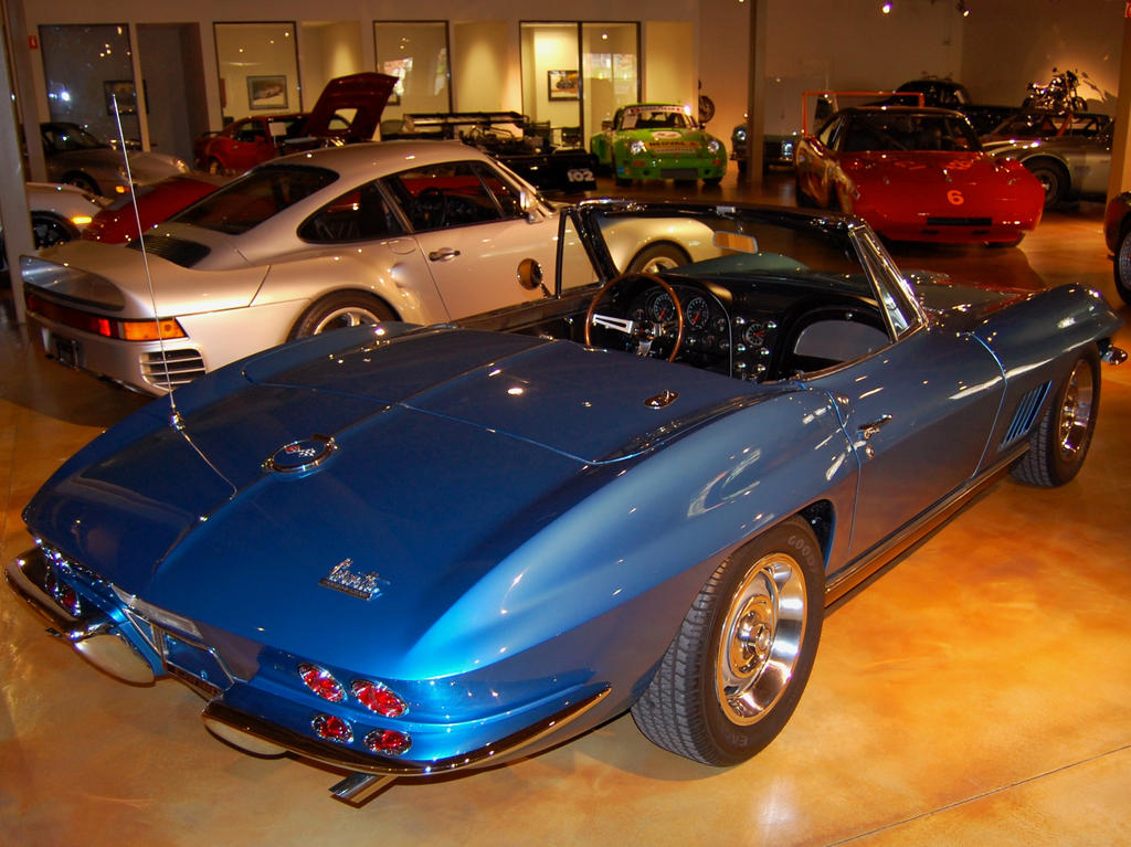 959 Corvette Sting Ray Daytona by Partywave