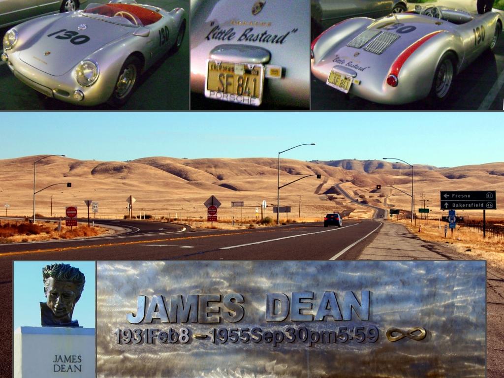 RIP James Dean Porsche 550 RIP by Partywave