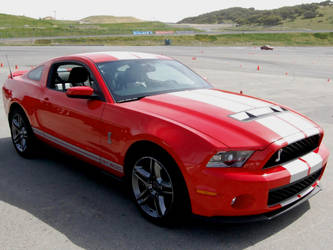 2010 Ford Mustang Shelby GT500 by Partywave