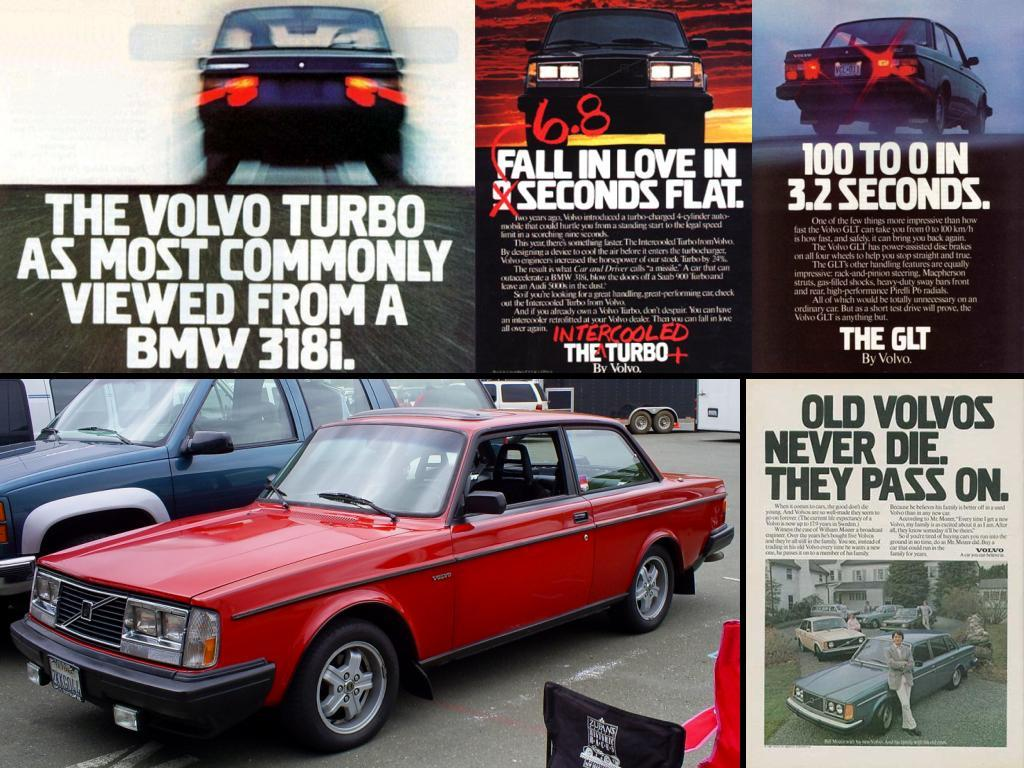 Volvo mag ads rock 240 242 by Partywave on DeviantArt