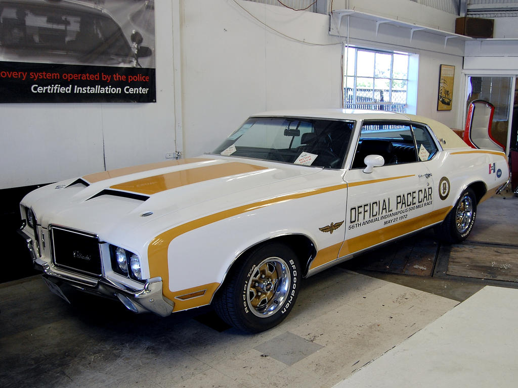 72 Hurst Olds Cutlass Pace Car by Partywave on DeviantArt