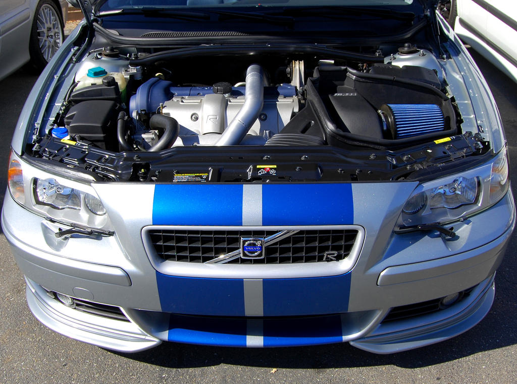 Volvo S60R silver and blue by Partywave on DeviantArt