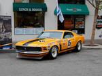 ORANGE 1970 Boss 302 Mustang