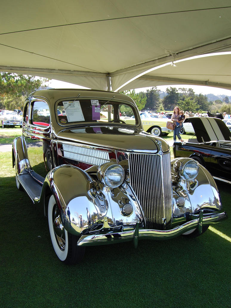 STAINLESS STEEL 36 Ford 2 door by Partywave