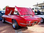 1966 Corvette tonneau open