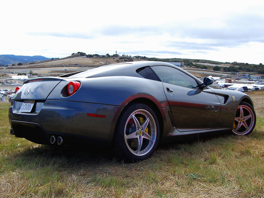Ferrari 599 GTB Tungsten Grey