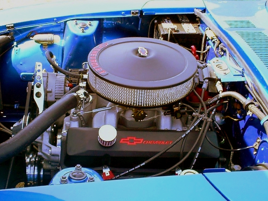 Datsun 240Z SBC V8 engine swap by Partywave on DeviantArt