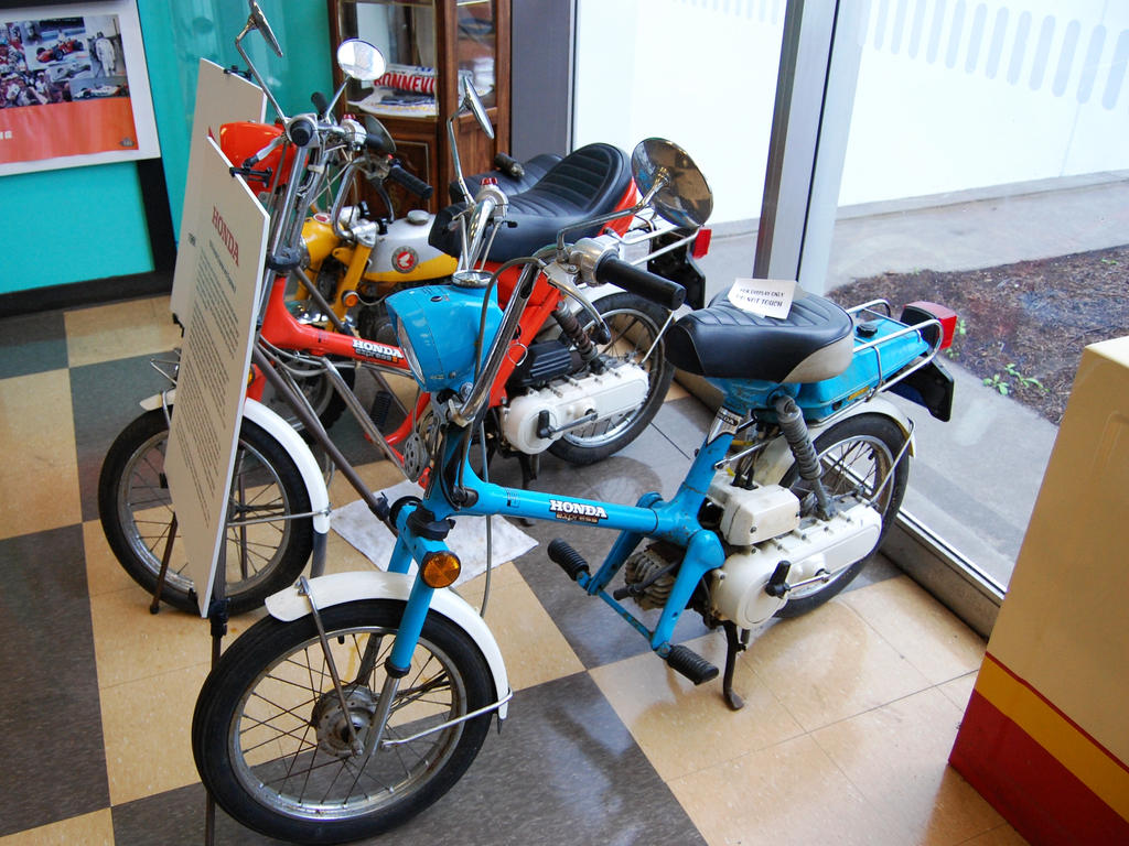 Honda Express/Express II minibike scooter moped by Partywave