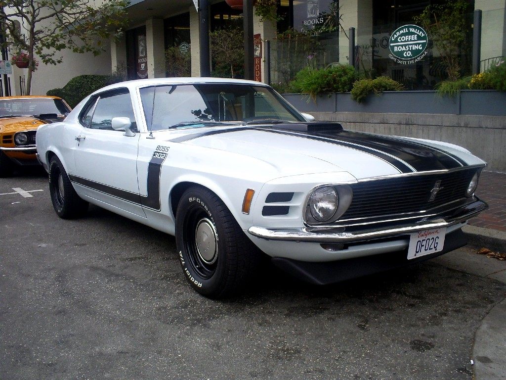 70 Mustang Boss 302 Monterey by Partywave on DeviantArt