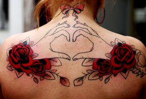 hands and heart 2nd sitting by Richroyalty