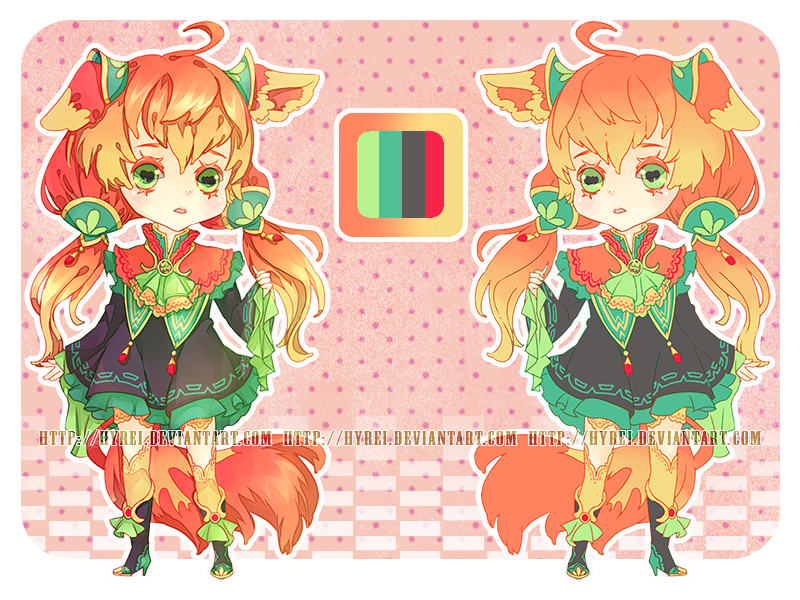 Auction : Kemono Mimi Chibi 2 [CLOSED] by HyRei