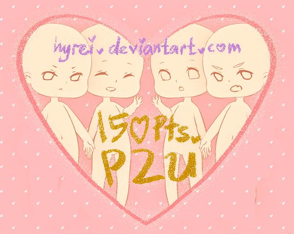 P2U Chibi Base V2 by HyRei