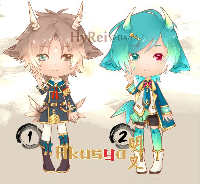 OTA : Akusya Species 4 [#1 OPEN] by HyRei