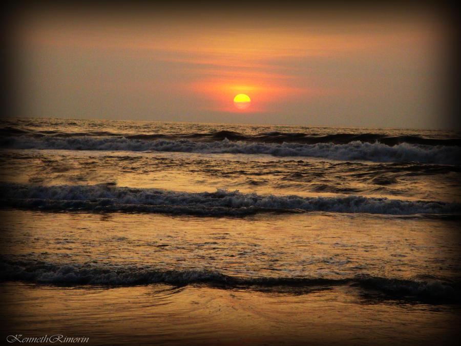 sunset by kennethrimz
